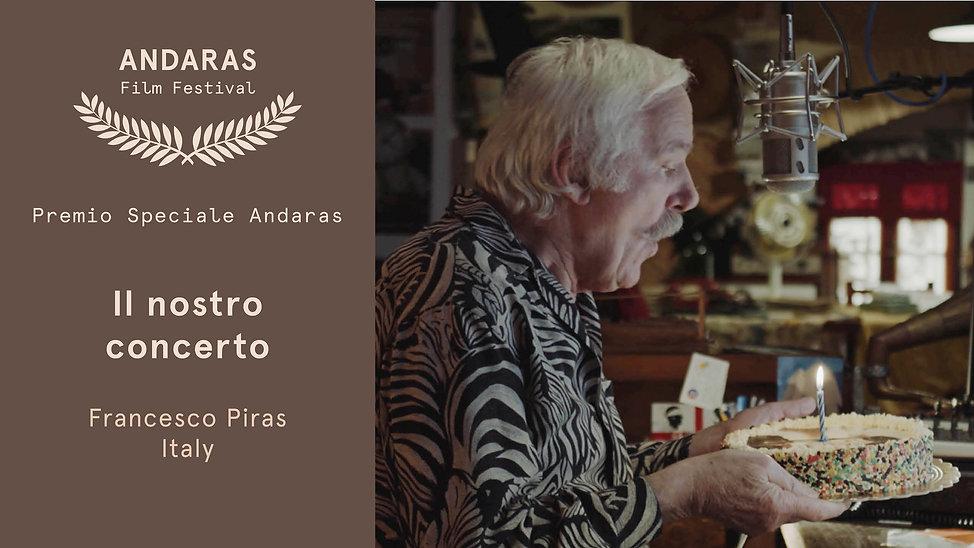 Premio Speciale Andaras - Andaras Film Festival 2019