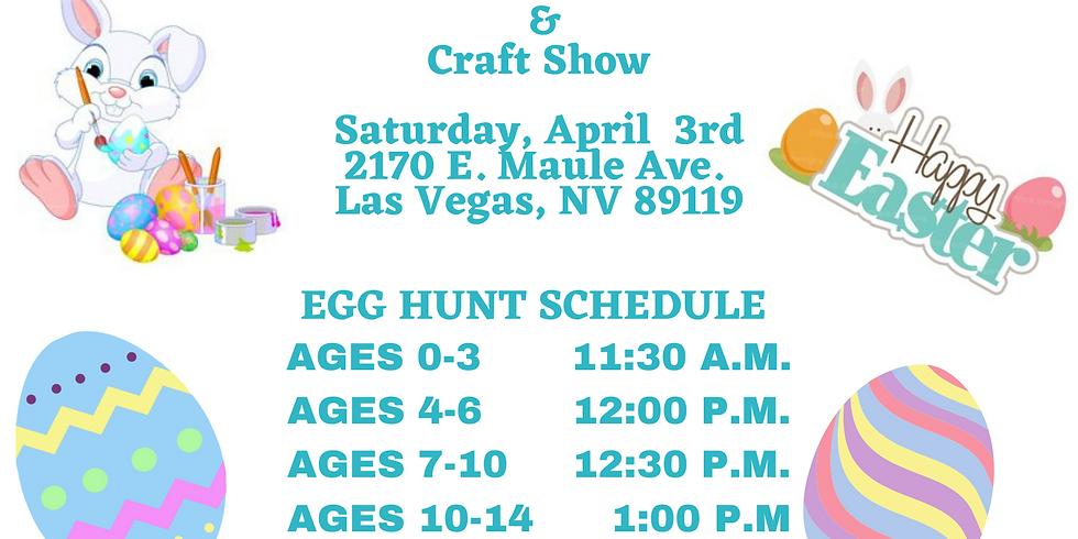 GLVA Easter Egg Hunt & Craft Show VENDORS ONLY