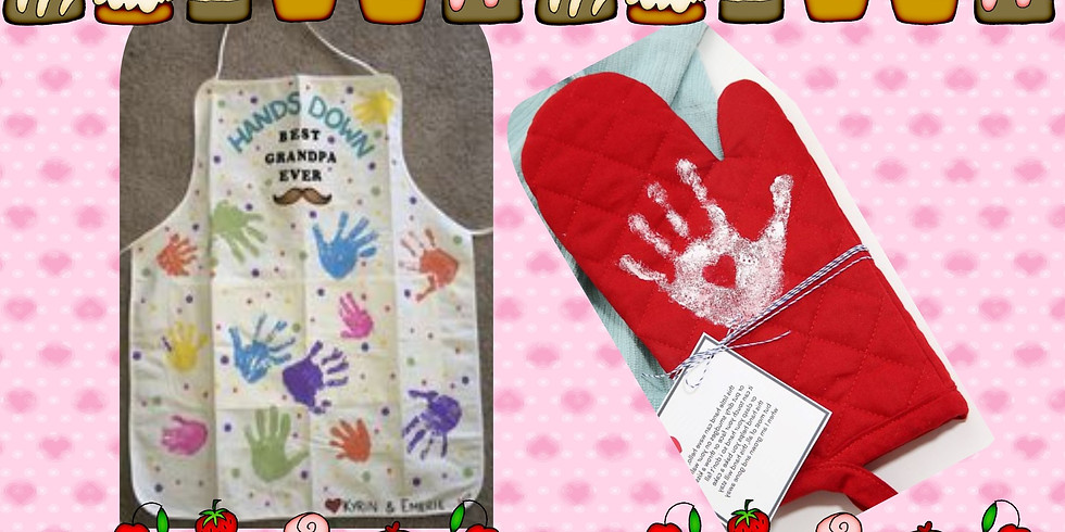 Great Gifts at GLVA- Aprons and Mitts