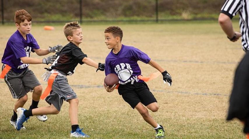 Ages 4-6 year olds: 6 Week Flag Football Season