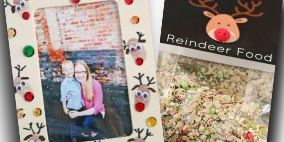 Great Gifts at GLVA- Reindeer Picture Frame