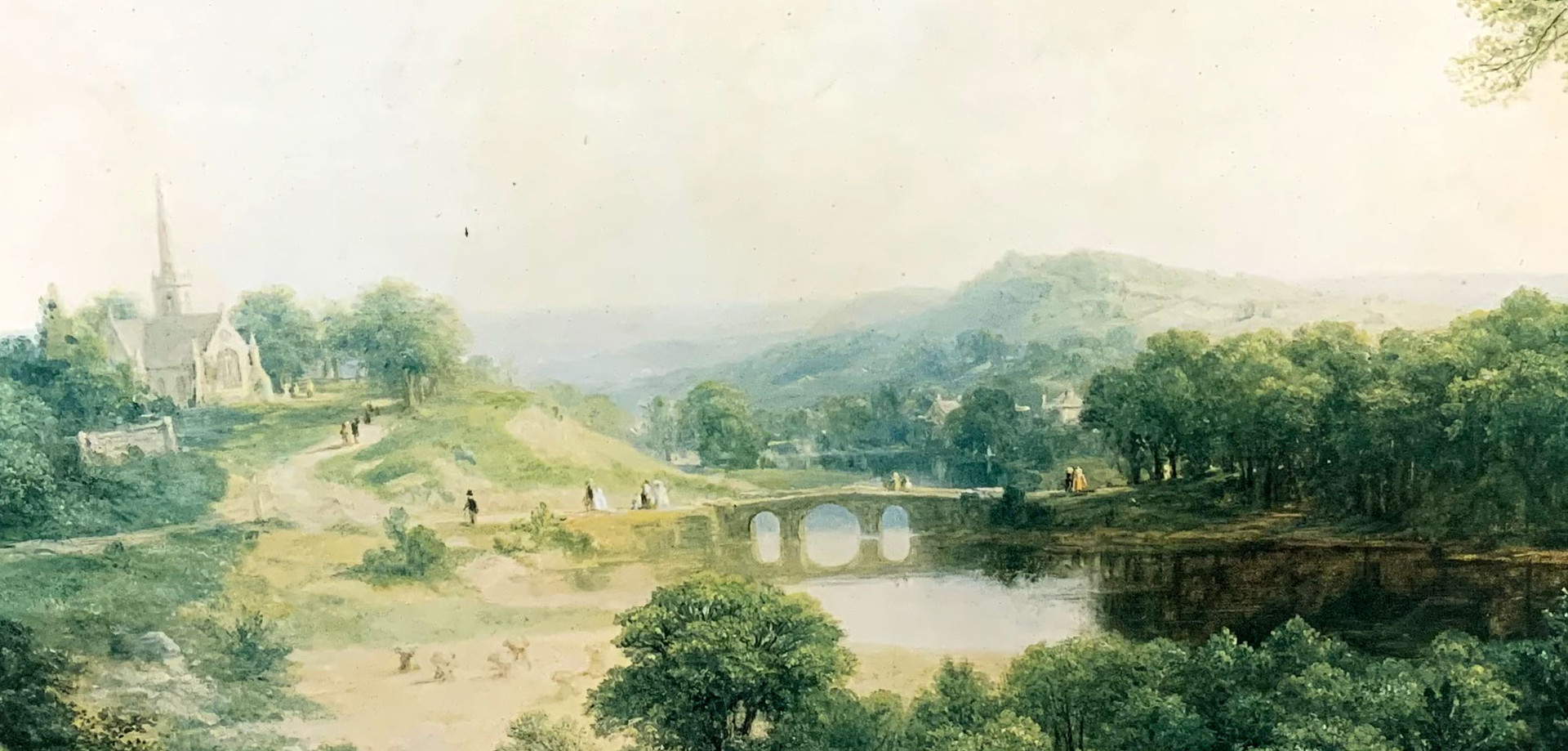 """Asher Brown Durand """"Day of Rest"""