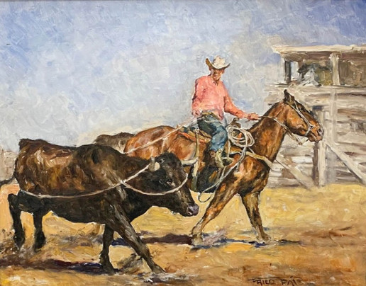 Fried, Pál - Cowboy Roping