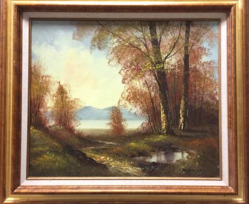 Shacsihata (?) -Landscape w/frame