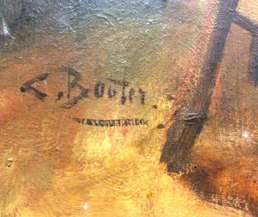 Cornelius Wouter Bouter - signature