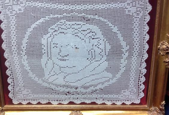 Vintage Crochet - white crochet - $52525