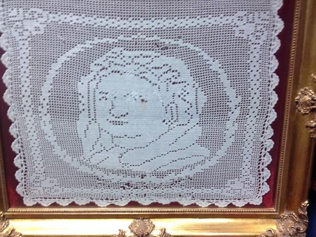 Vintage Crochet Portrait