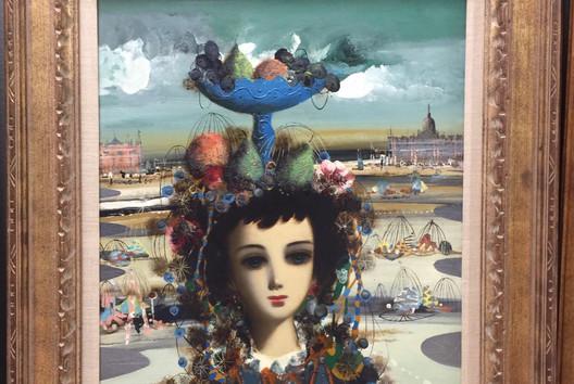 """Jean Calogero: """"Mystique Lady"""" w/frame"""
