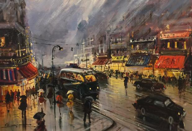 C. H[_ _ _.] Paris rainy night $1,500