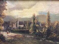 Deaca, George   landscape $2,000