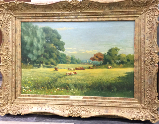 Fisher, William Mark - Landscape w/frame