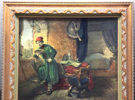 Rembrant Student Framed