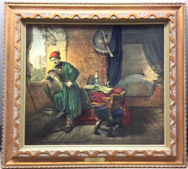 Rembrandt's Student  $ SOLD