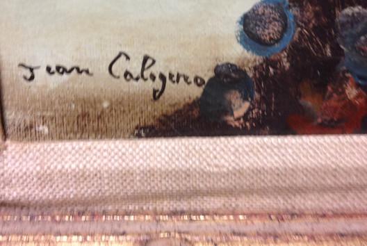 Jean Calogero - signature