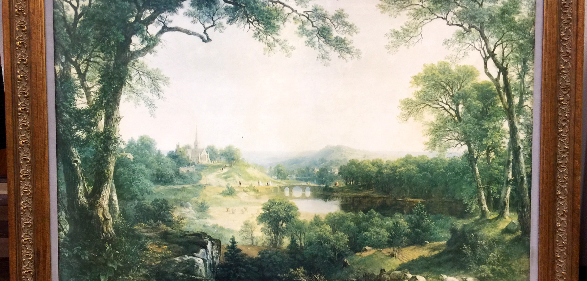 """""""Day of Rest"""" by Asher Brown Durand"""