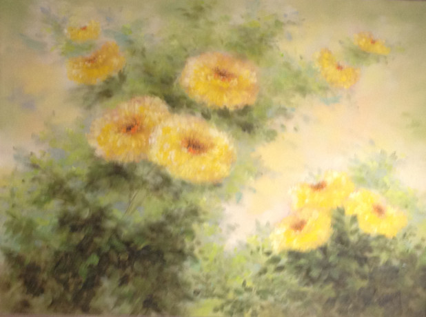 Fleming, Shirley. - Floral in Yellow  $1,771