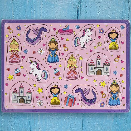 Wooden Fairy Princess Puzzle