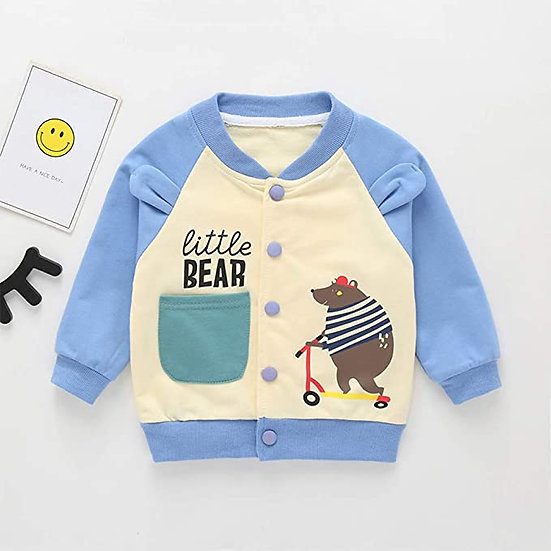 Little Bear Bomber Jacket