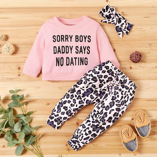 Daddy Says No Dating Outfit Set