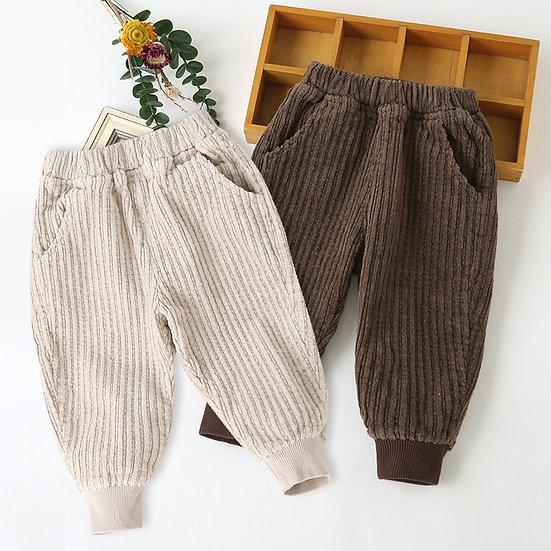 Nude Cord Trousers