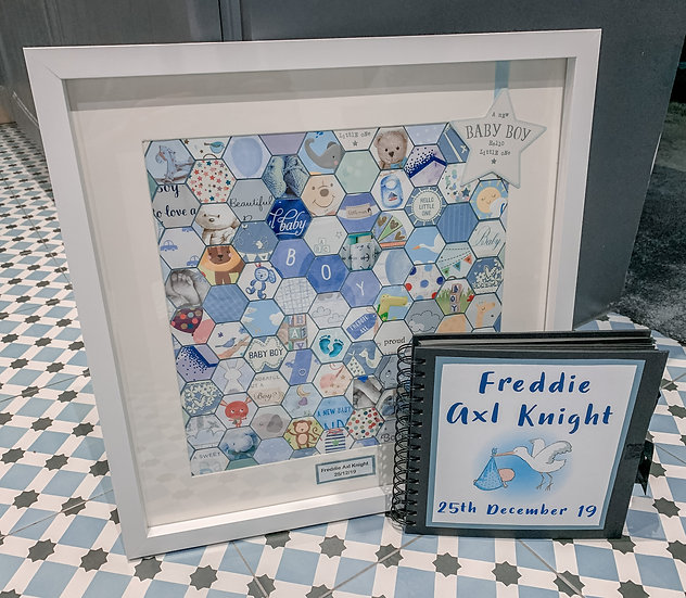 Baby Card Keepsake Frame