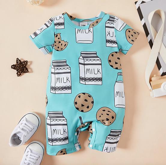 Milk & Cookies Short Romper