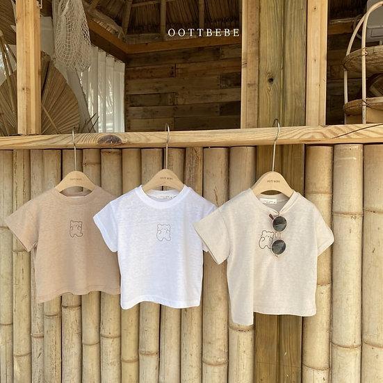 Linen Bear T-Shirt