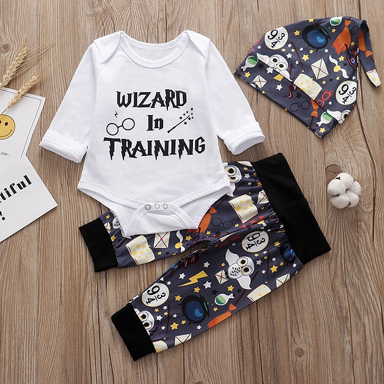Harry Potter Wizard in Training Outfit