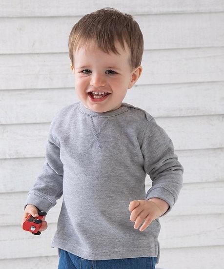 Grey Long Sleeve Sweatshirt