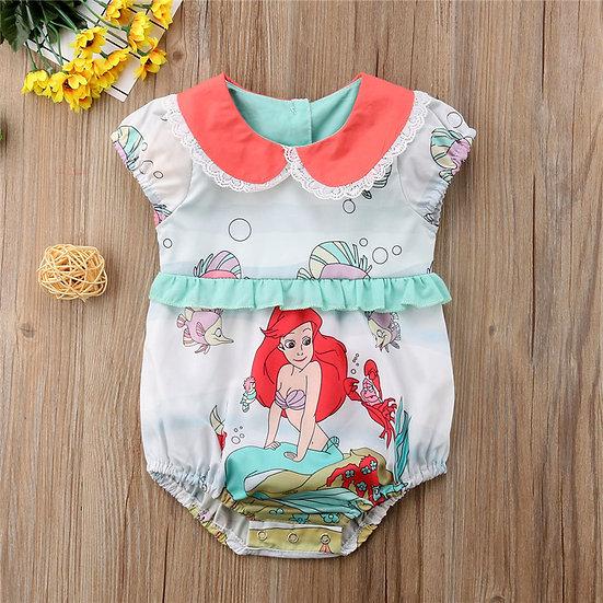 Ariel Little Mermaid Romper