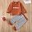 Thumbnail: Rust Stripe Loungewear Set