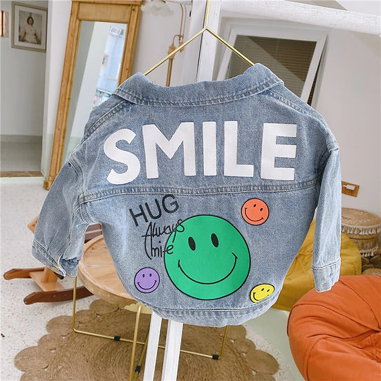 Smile Denim Jacket