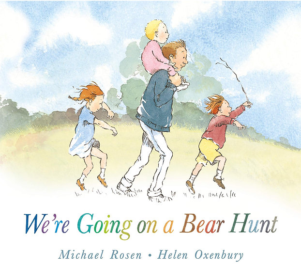 We're Going On a Bear Hunt Book