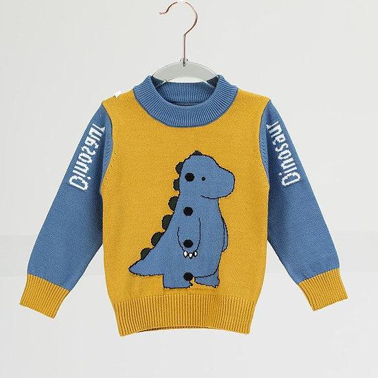 Dinosaur Knitted Jumper