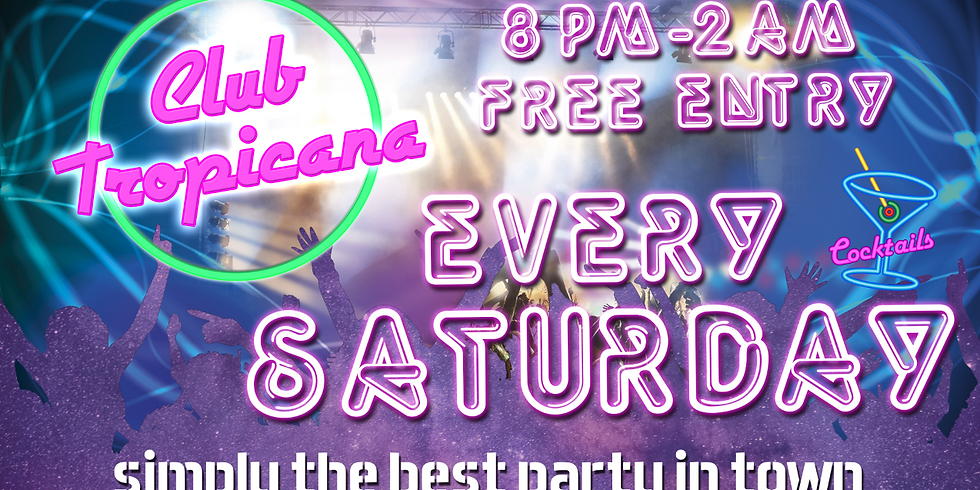 Saturday 4th August Guest List