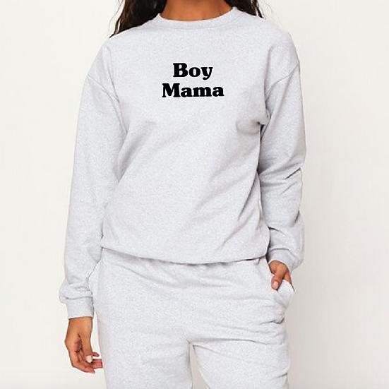 Adults Unisex Grey Marl Sweatshirt