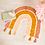 Thumbnail: PREORDER Earthy RainbowRug with Tassels