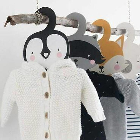 Pack of Two Nursery Coat Hangers