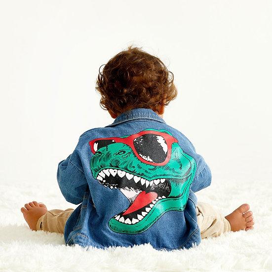 Dinosaur Denim Jacket