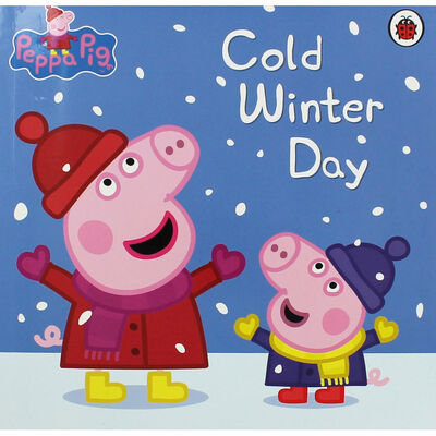 Peppa Pig Cold Winter Day Book