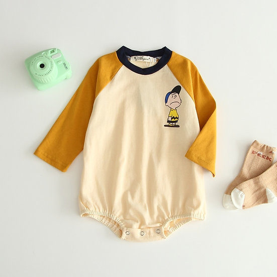 Charlie Brown Snoopy Romper