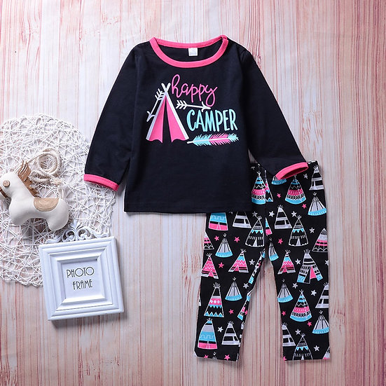 Happy Camper Outfit Set