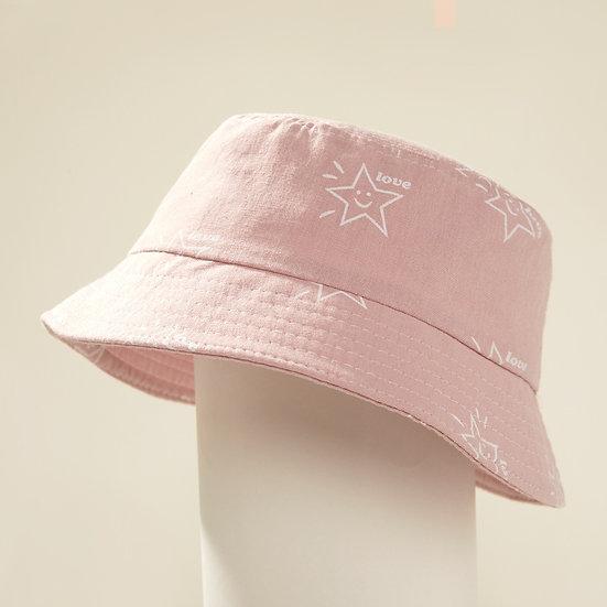 Pink Summer Bucket Hat