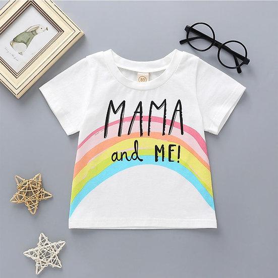 Mama & Me Rainbow T-Shirt