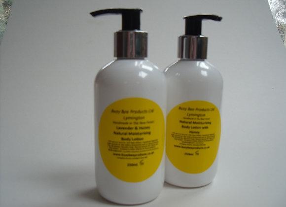 Moisturising Lavender and Honey Body Lotion 250ml