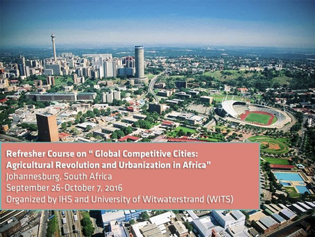 Global Competitive Cities: Agricultural Revolution and Urbanization in Africa