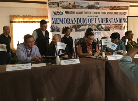 Filipino Transformers and promoting the right to adequate housing