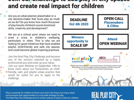 Join the Real Play City Challenge!