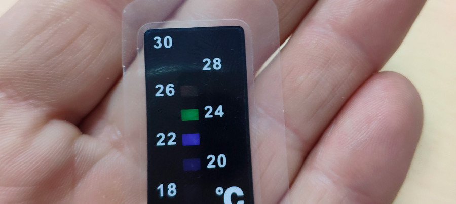 Жидкокристаллические термометры