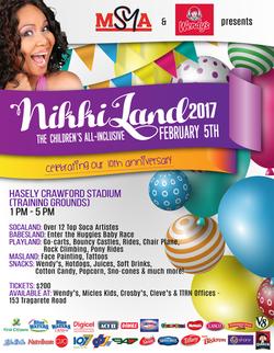 NikkiLand Flyer Design